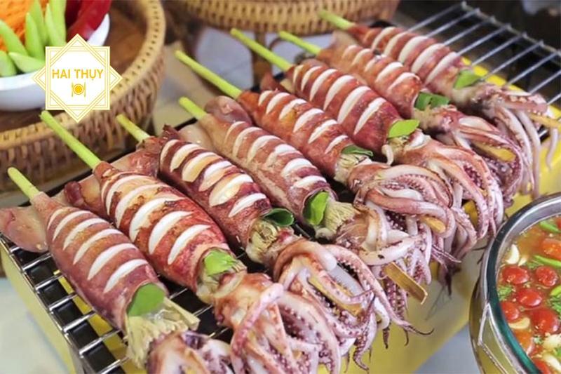 Nấu tiệc liên hoan chuyên nghiệp với các món ăn từ mực cực hấp dẫn